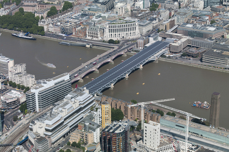 London's new solar bridge is the largest in the world   Grist   Essentially England - For English History and Food Lovers   Scoop.it