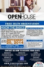 JROOZ IELTS OPEN HOUSE ON SEPTEMBER 20, 2014 | Immigration 101 | Scoop.it