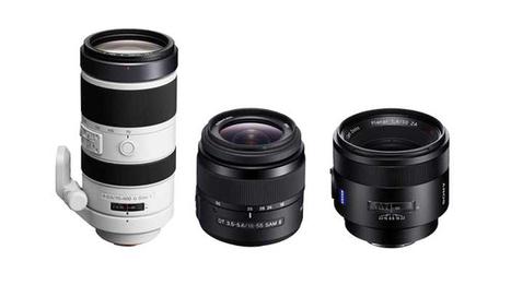 3 neue Sony Objektive 2013 - 18-55mm, 70-400mm, 50mm | Camera News | Scoop.it