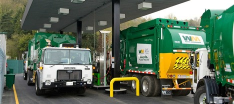 Natural Gas Trucks Help Waste Management Meet Clean Air Goals | Waste Management | Green Tech News | Scoop.it