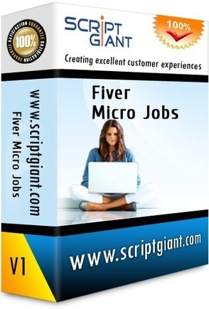 Fiverr Micro Jobs Website Script | PopularClones.Com : Scriptgiant Softwares Marketplace | Scoop.it