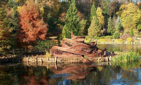Stanisław Dziubak: Snake on the island | Art Installations, Sculpture, Contemporary Art | Scoop.it