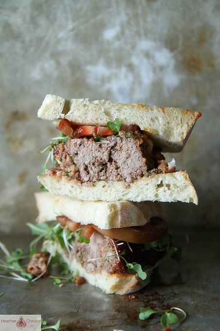 #Recipe/ Meatloaf Sandwiches with Bourbon Mustard   food   Scoop.it