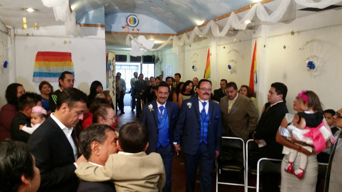 Mexico City's Church of Reconciliation home for LGBT