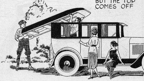 This Ingenious Car From 1923 Turned Into a Boat | HOMEHISTORY | Scoop.it