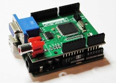 VGADuino, Arduino VGA Graphic Shield (video) - Geeky Gadgets | Raspberry Pi | Scoop.it