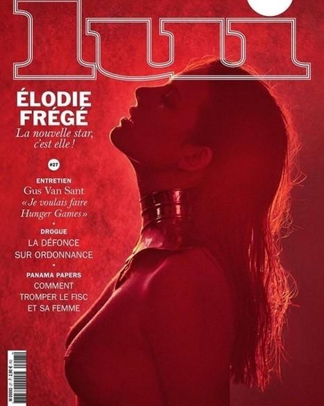 Photos : Elodie Frégé nue pour le magazine Lui | Radio Planète-Eléa | Scoop.it
