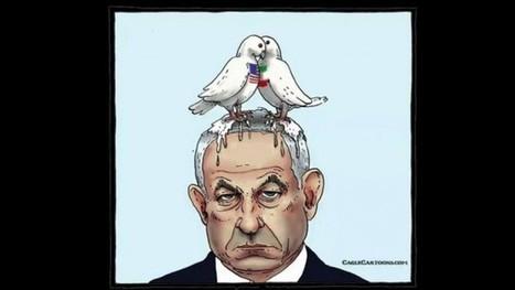 La #Suisse «regrette» le dessin de colombes déféquant sur #Netanyahu (fallait pas .. bravo  à l'ambassadeur Haas) #israel | Infos en français | Scoop.it