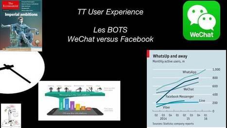 Le Début des BOTS et la fin des APPs- Facebook veut rattraper WeChat | Marketing Mobile, omnicanal, cross canal, | Scoop.it