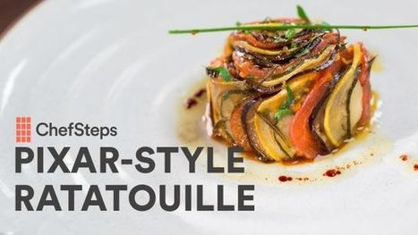 Make Ratatouille That Looks Like It Came Right Out of the Pixar Movie   Bazaar   Scoop.it