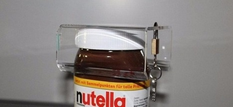 Design : un cadenas anti-gloutons pour les pots de Nutella | Clin d'œil ! | Scoop.it