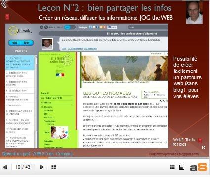 Devenir un prof Web 2.0 en 10 leçons | TICE & FLE | Scoop.it