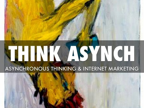 """Asynchronous Thinking"" - A Haiku Deck by Martin Smith 