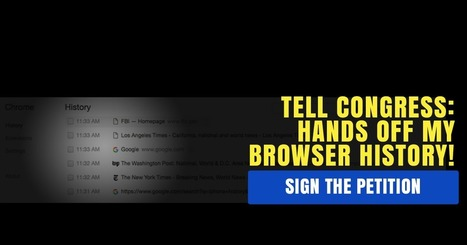 Tell Congress: Hands off my browser history! | Educating & Enforcing Human Rights For We The People !! | Scoop.it