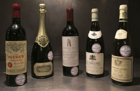 French president's palace puts vintage wine up for auction to raise money amid tough times | All about France | Scoop.it