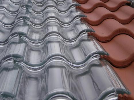 Tejas solares de vidrio. Generar energía solar térmica | tecno4 | Scoop.it