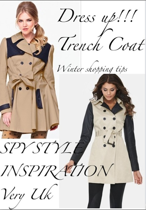 THE FASHIONAMY by Amanda: Very Uk, easy Trench coat ideas, cinema inspiration and daily outfits | fashion jewelry | Scoop.it