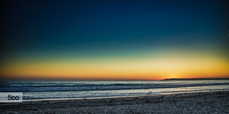 """Sunset beach"" by Cesar Rodriguez on 500px 