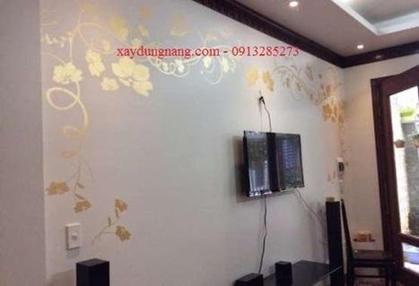 Sơn tường nghệ thuật chuyên nghiệp cho phòng khách, phòng ngủ | Sơn tường | xaydungnang | Scoop.it