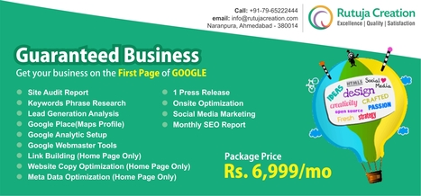 SEO Services at Just 6,999 - Get On Top & Stay On Top | Web Design Company -  Indian best sites | Scoop.it