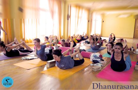 Health Benefits of Dhanurasana (Bow Pose) | Yoga School Rishikesh India | Scoop.it