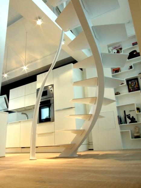Stairway to Heaven : Cinq escaliers de rêve | Escalier Design Mobilier Contemporain de style Art Nouveau | Scoop.it
