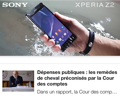 How Le Monde is reinventing the ad unit for mobile - Digiday   Digital-News on Scoop.it today   Scoop.it