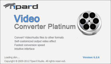 Tipard Video Converter Platinum 6.2.18 | flux | Scoop.it