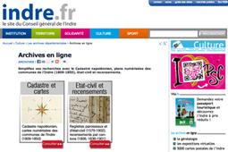 L'état civil de l'Indre enfin remis en ligne ! GénéInfos | Nos Racines | Scoop.it
