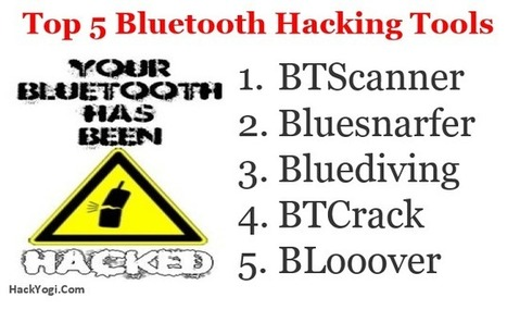 Top 5 Bluetooth Hacking Tools- Ethical Hacking Guide | technology | Scoop.it