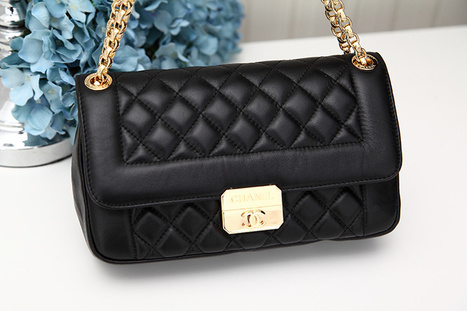 Chanel Class Black Shoulder Cover Bags [2013072201] - $219.00 : bagbagsoutlets | bags outlet | Scoop.it