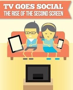 Infographic: The Rise of the Second Screen | Nouveaux écrans | Scoop.it