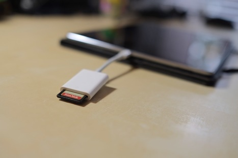 Quick Look: Apple's USB 3 SD Card Reader for iPad | iPads, MakerEd and More  in Education | Scoop.it