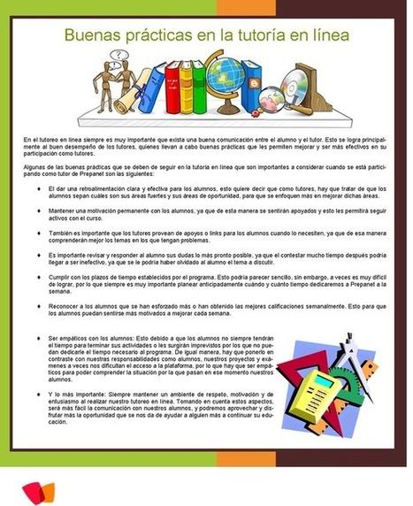 Buenas prácticas en la tutoría en línea | Prep@net Nuevo Leon | Competencias en la EMS | Scoop.it