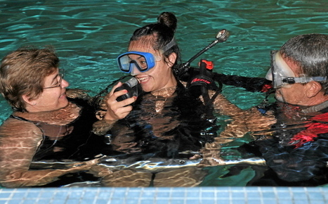 Scuba lessons make kids happy at Miller Children's Hospital | All about water, the oceans, environmental issues | Scoop.it