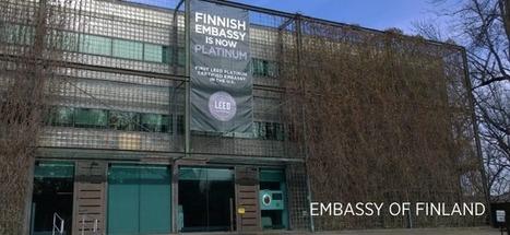 Certification LEED, US :  l'ambassade de Finlande première ambassade Platinum | LABELS Actualités | Scoop.it