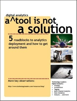 5 Roadblocks to Analytics Deployment and How to Get Around Them | Digital Analytics | Scoop.it