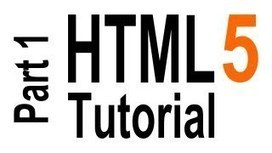 HTML5 Tutorial For Beginners - YouTube | DAW | Scoop.it