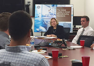 ASTM Executive Vice President Katharine Morgan led a student roundtable at The Pennsylvania State University | STEM Advocate | Scoop.it