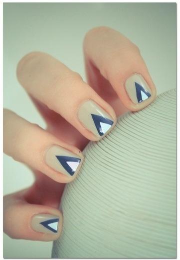 Tutoriel nail art géométrique   Flavor Magazine   Educatel - Découvrez les formations à distance dans le domaine de la beauté   Scoop.it