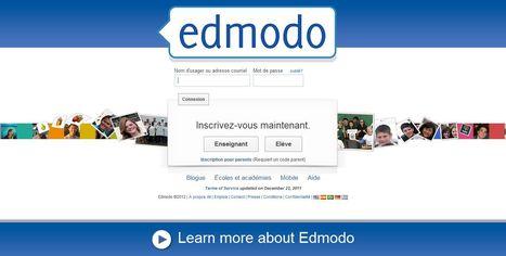 Edmodo | Réseau social éducatif sécuritaire pour enseignants et élèves | TELT | Scoop.it