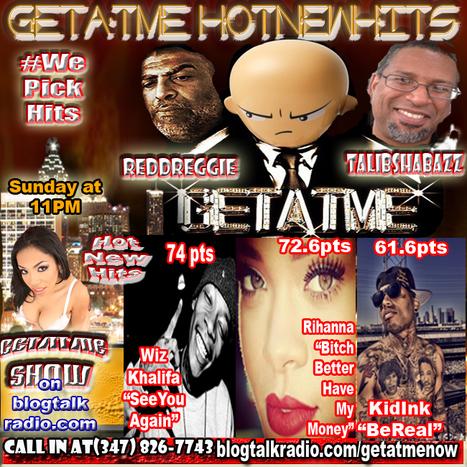 "GetAtMe HotNewHits 4/12/2015 ft Wiz Khalifa, Rihanna & KidInk (""SeeYouAgain"" hits #1) | GetAtMe | Scoop.it"