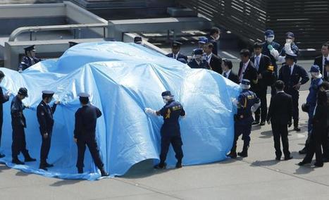 Japon : Un drone légèrement radioactif atterrit sur le toit du bureau du Premier ministre | Japan Tsunami | Scoop.it
