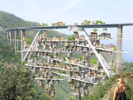 Parasitic City Takes Over Decommissioned Italian Highway | Archivance - Miscellanées | Scoop.it