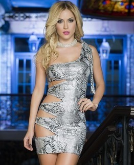 Silver Seduction Sexy Dress | Selection of lingerie | Scoop.it