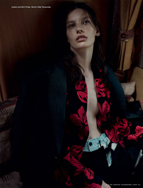 Amanda Murphy by Willy Vanderperre for i-D Magazine Fall 2013 | The Fashionography | Fashion | Scoop.it