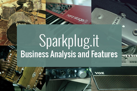 Sparkplug Script Features Analysis to Clone an Advanced Music Instrument Sharing Platform | internet marketing | Scoop.it