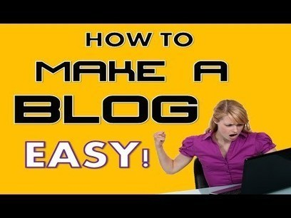 How to Make a Blog - Easy ! | General SEO | Scoop.it