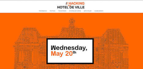 [#Event] Hacking de L'Hotel de Ville - Paris - May 20th - #Startup | My curated topics or ideas | Scoop.it