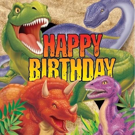 Un goûter d'anniversaire sur le thème dinosaure | Easy Anniv | Scoop.it